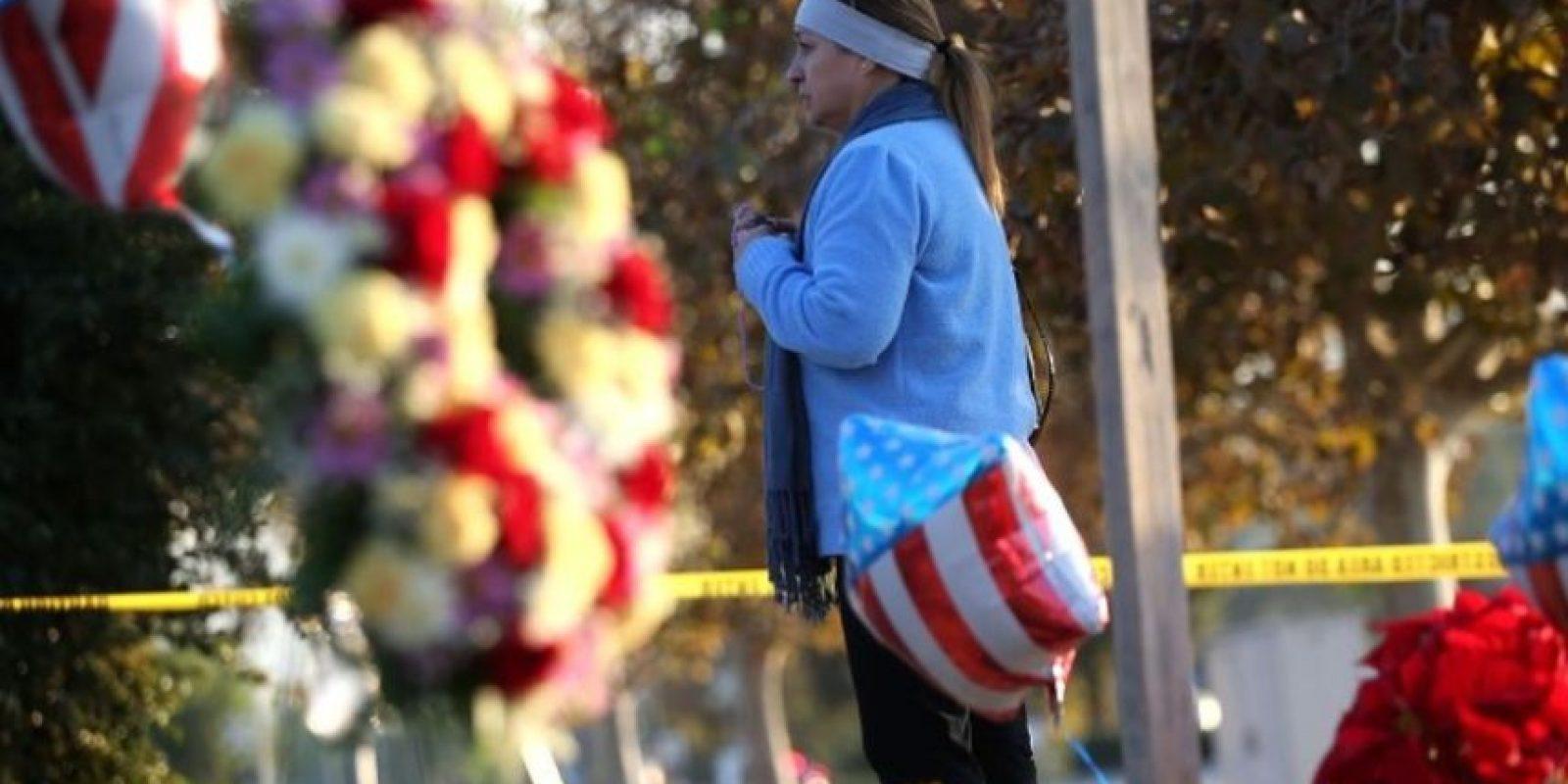 Antes de realizar el atentado, dejaron a la niña en casa de su abuela. Foto:Getty Images
