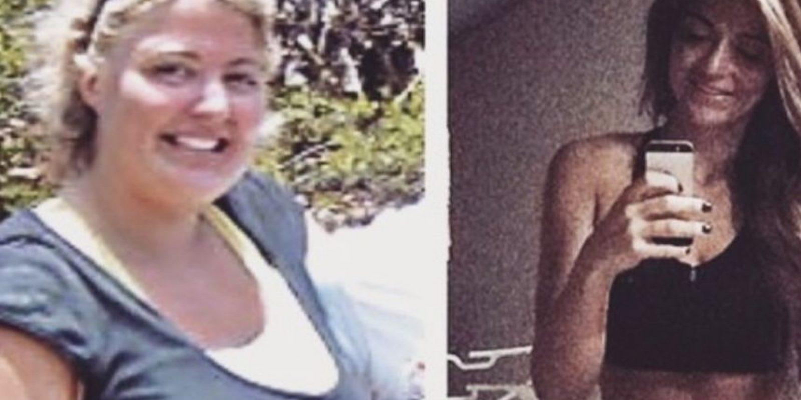 Lleva aún las estrías de su peso. Foto:vía Instagram