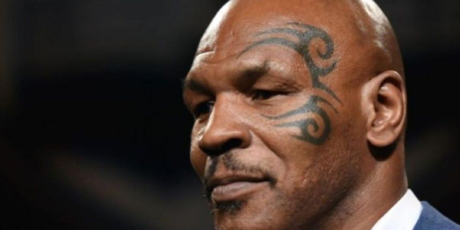 """6- Mike Tyson, ex boxeador estadounidense. En 2003, su abogada Debra Grassgreen declaró al """"New York Post"""" que Tyson se declaraba en bancarrota para intentar ordenar sus finanzas. Foto:Getty Images"""