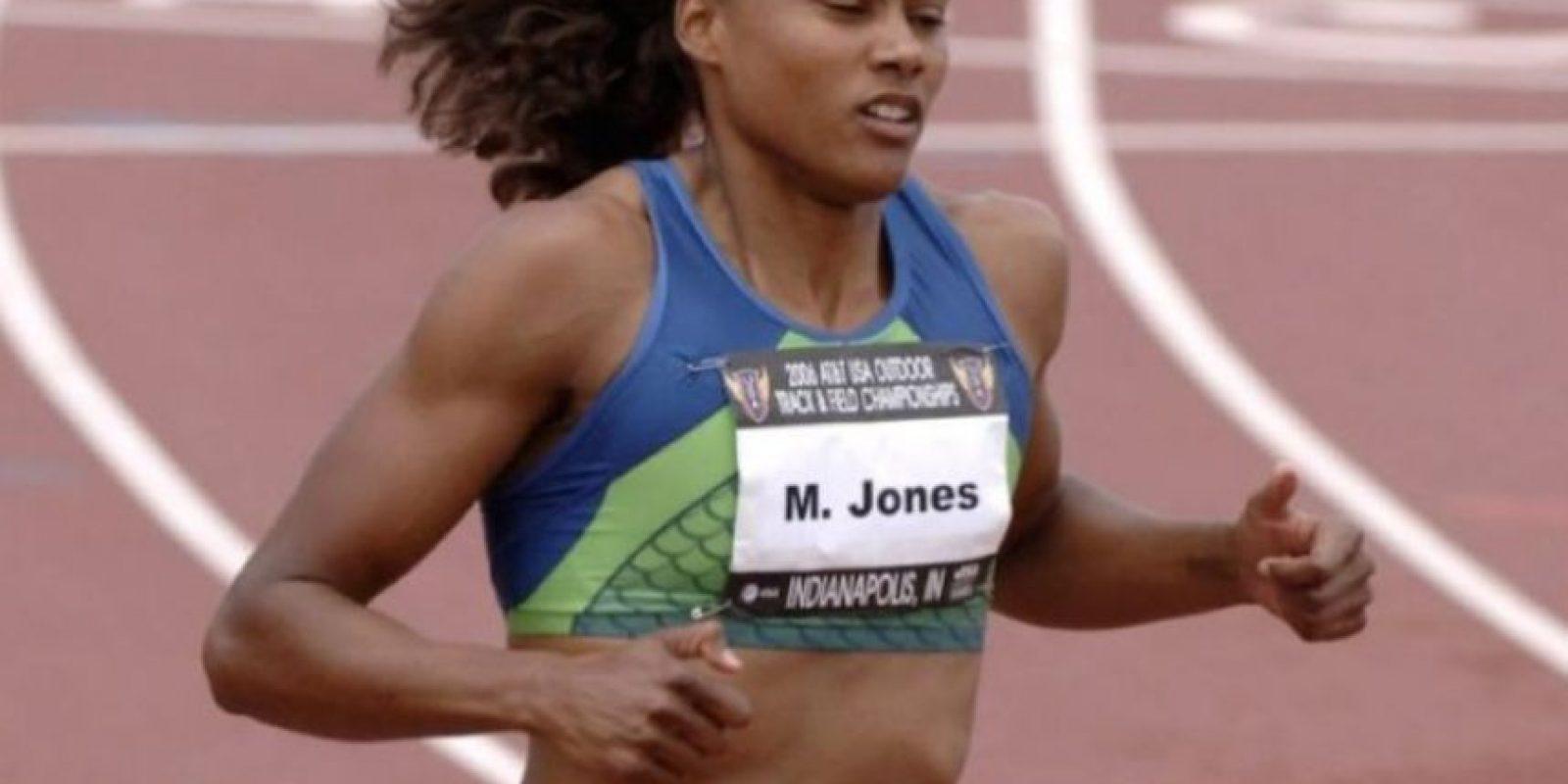 """Marion Jones, ex atleta estadounidense. A pesar de ganar hasta 80 mil dólares mensuales, en junio de 2007 declaró a """"Los Ángeles Times"""" que solamente le sobraban dos mil dólares en efectivo. Foto:Getty Images"""