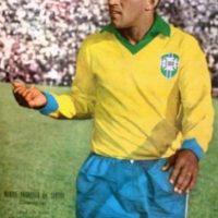 Mané Garricha fue futbolista profesional. Problemas con el alcohol orillaron a Garrincha a vivir sus últimos meses en la miseria. Falleció en 1983 a los 40 años de edad. Foto:Getty Images
