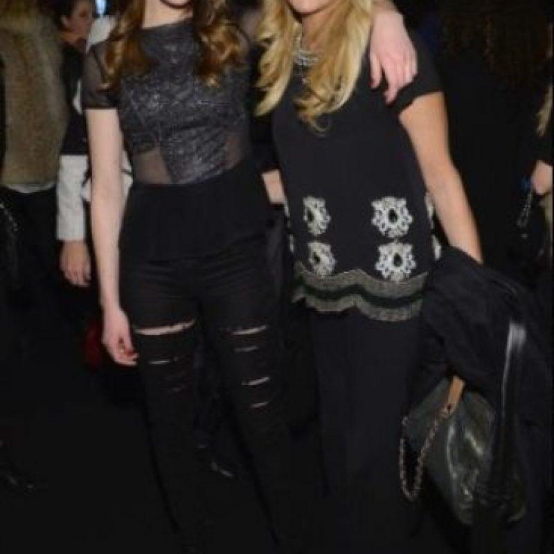 Dina y Alli Lohan Foto:Getty Image