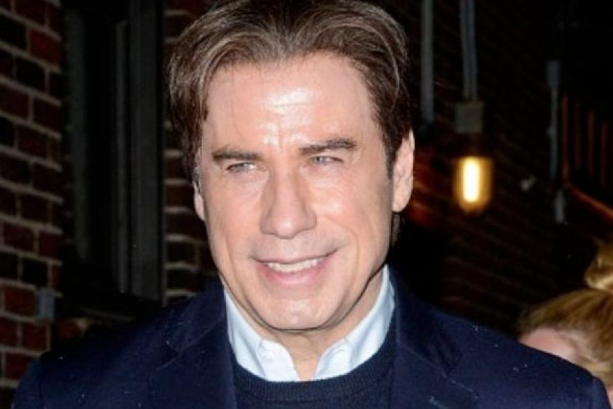John Travolta después Foto: Getty Images