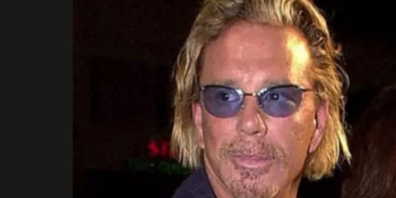 Mickey Rourke antes Foto: Getty Images