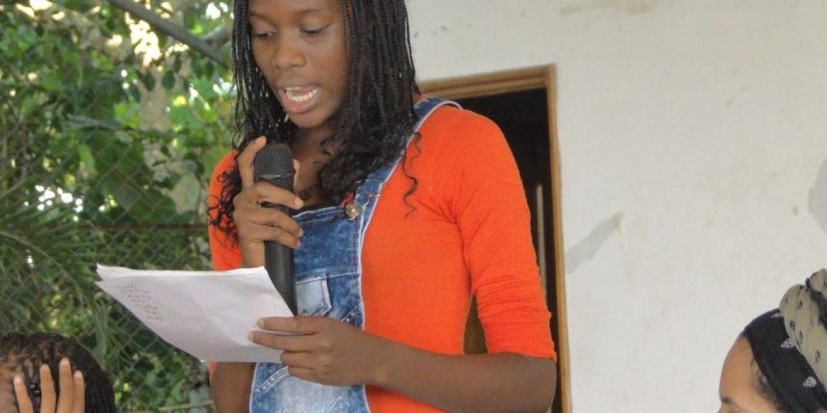 Una joven promesa para la construcción de paz
