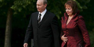 Después de 30 años de casado el presidente de Rusia, Vladímir Putin, anunció su divorcio en junio de 2013. Foto:Getty Images