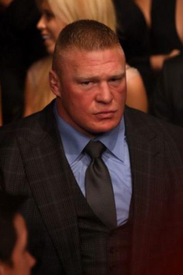 Y, ¿una revancha contra Brock Lesnar? Foto:WWE