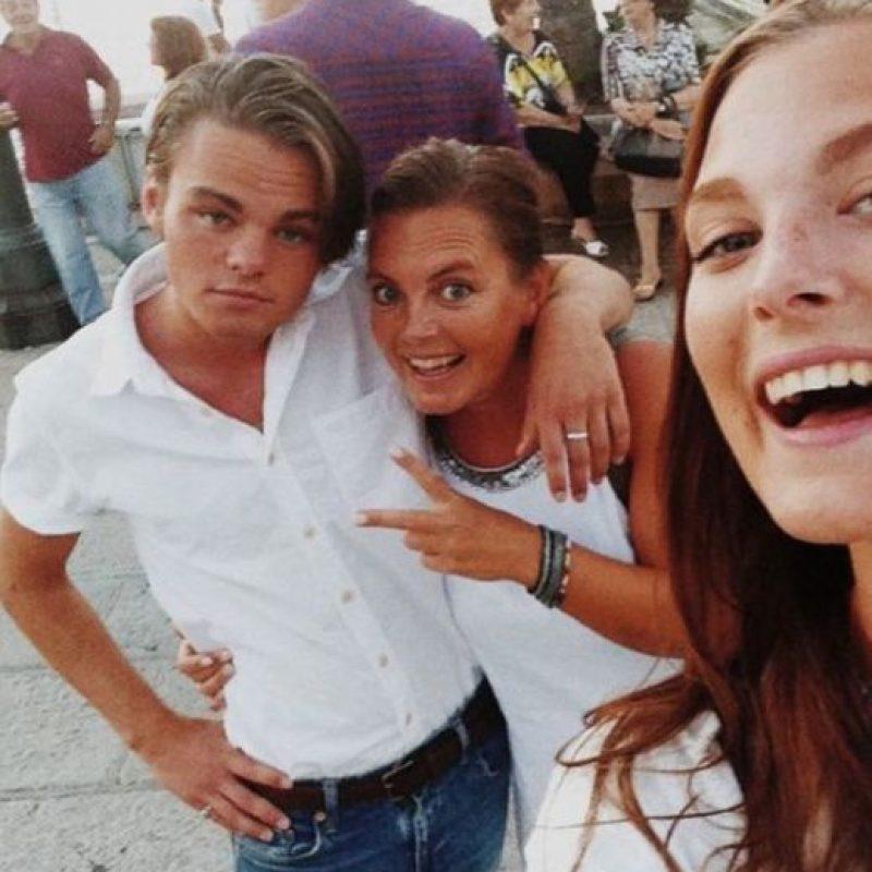 Konrad adoptó el estilo del actor cuando la gente le pedía fotos en la calle. Foto: vía instagram.com/konradannerud