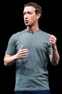 Mark Zuckerberg en el Mobile World Congres 2016. Foto:Getty Images