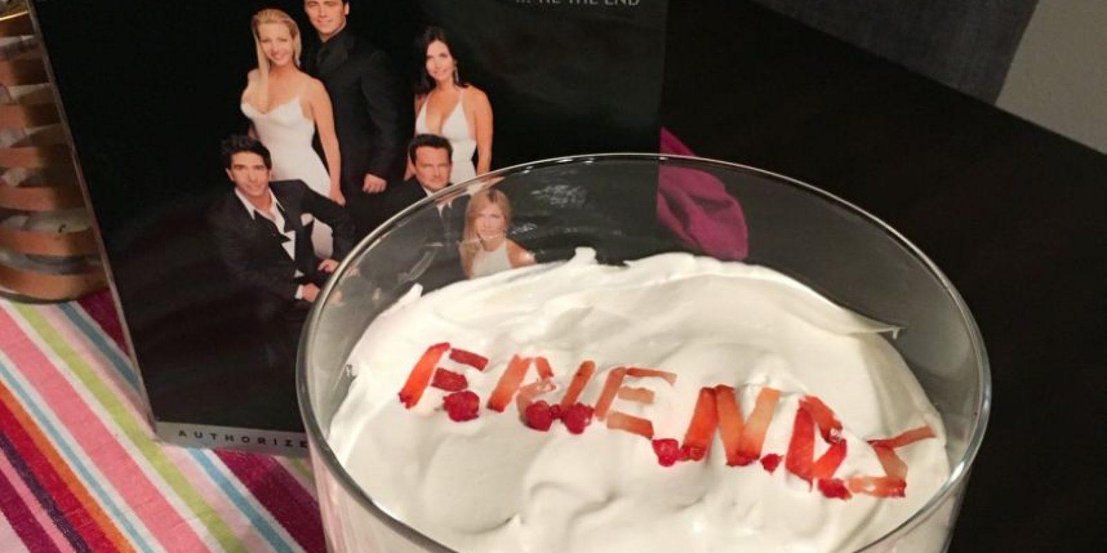 Jennifer Aniston lloró. Se revivieron viejos episodios. Foto:vía Twitter