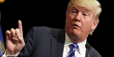 El precandidato tampoco se ha medido al hablar y criticar a los precandidatos Ted Cruz y Jeb Bush, del mismo partido, así como Hillary Clinton del partido Demócrata. Foto:Getty Images
