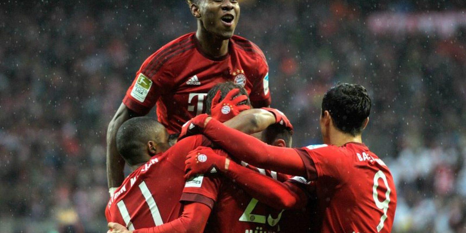 Los bávaros marchan como líderes de la Bundesliga Foto:Getty Images