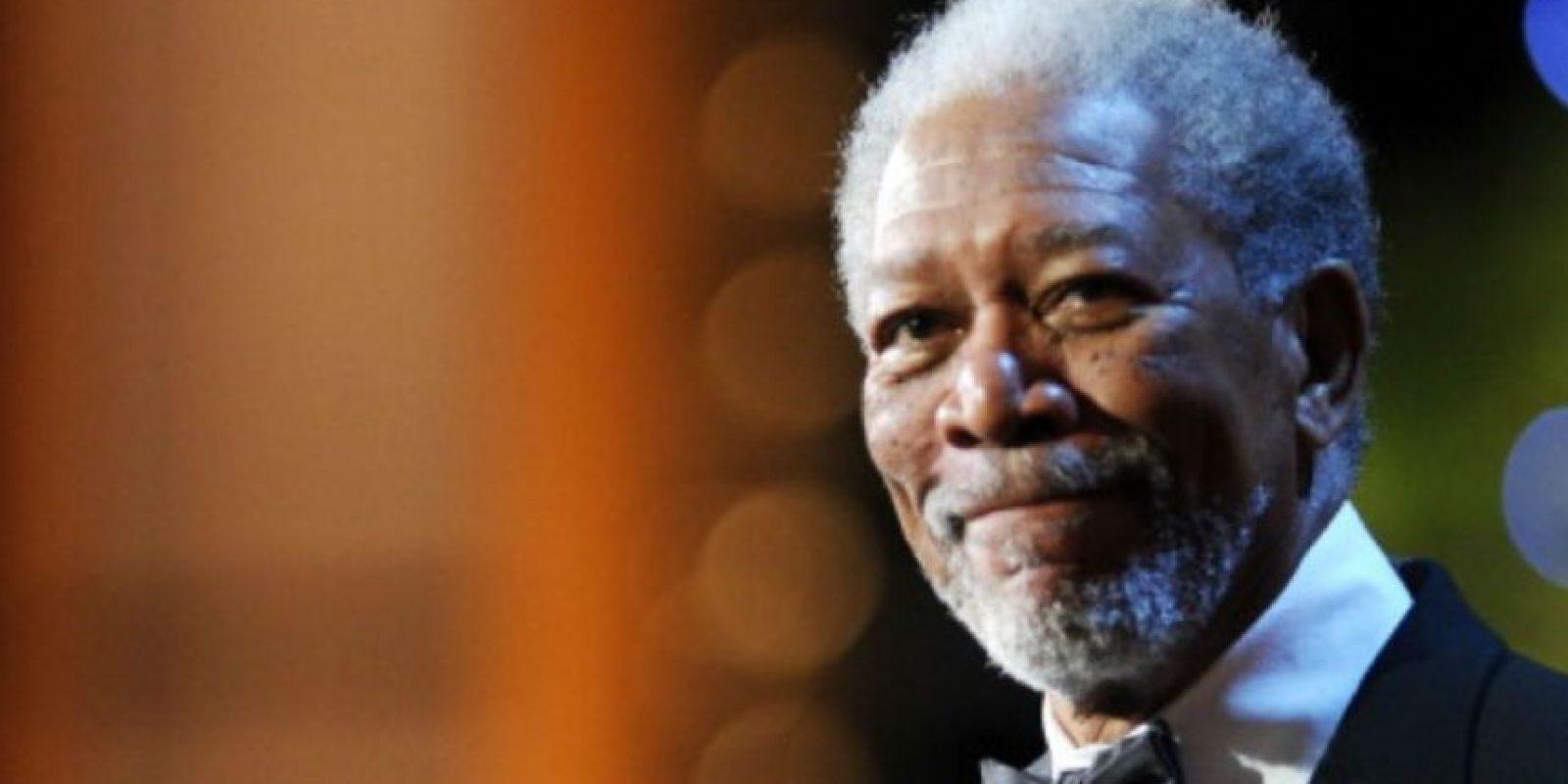 Morgan Freeman en la nueva voz famosa en la app Waze. Foto:Getty Images