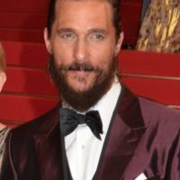 9. Matthew McConaughey no usa desodorante. Foto: Getty Images