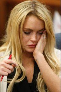 9- Lindsay Lohan. Foto:Getty Images