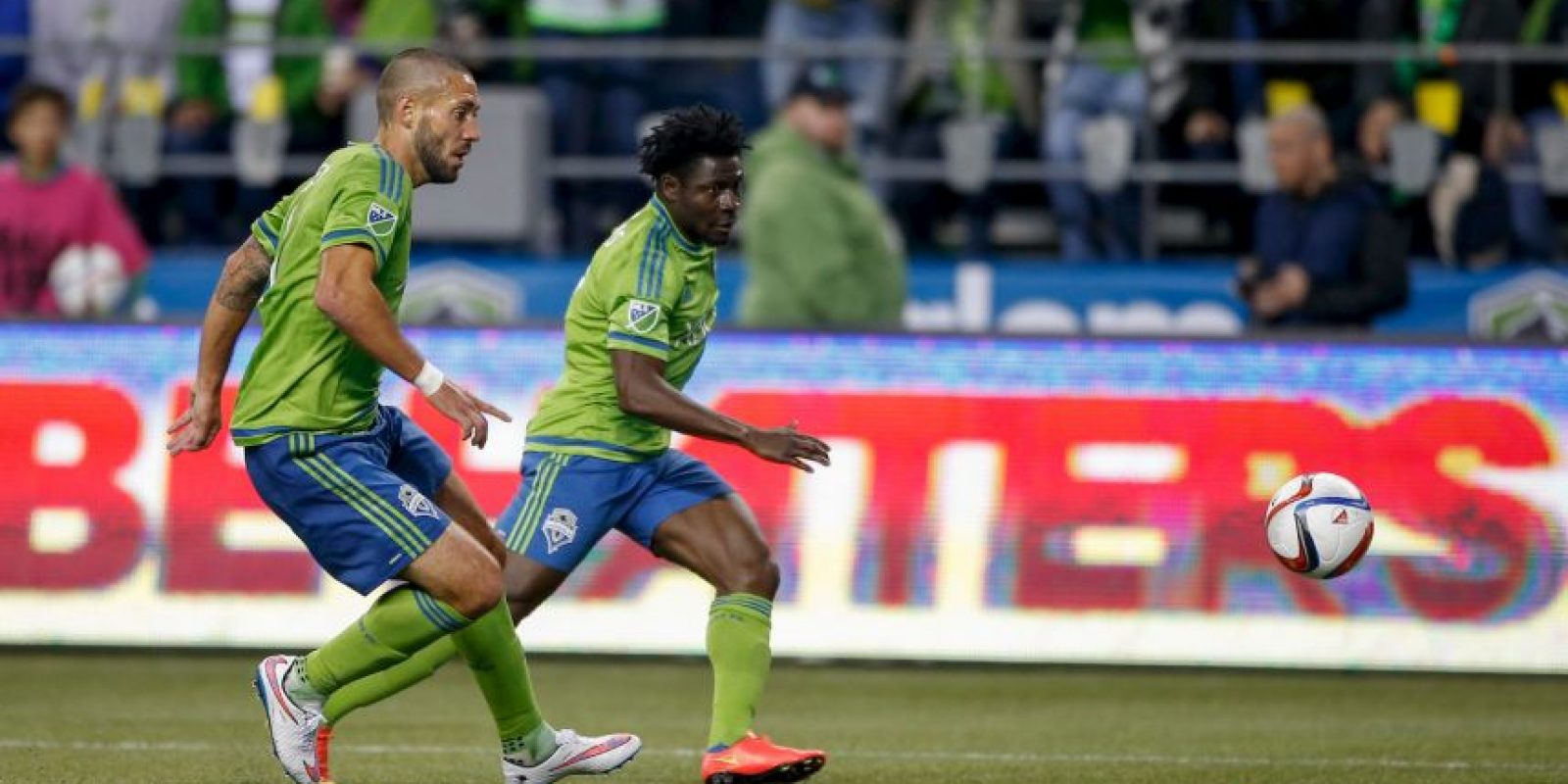 Forma parte del Seattle Sounders desde 2013 Foto: Getty Images