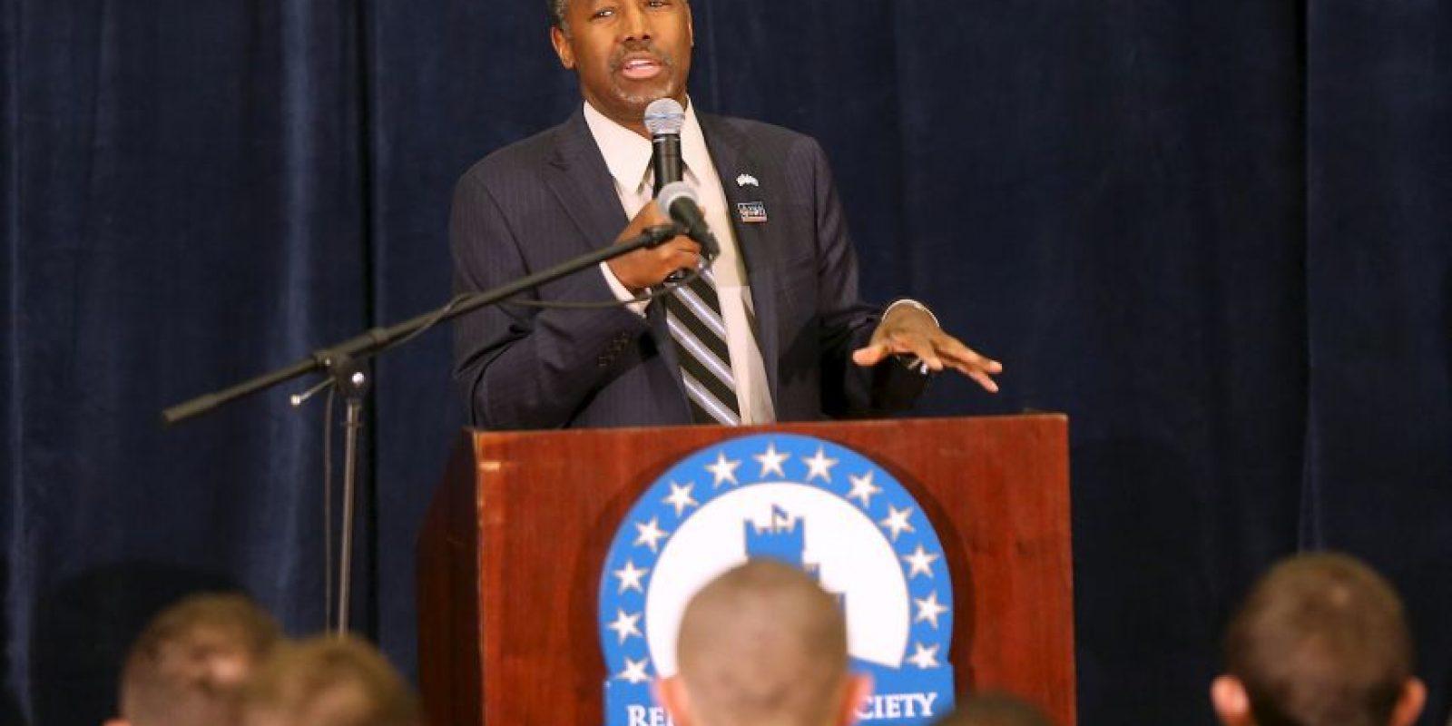El 4 de mayo anunció su entrada en la contienda por la nominación republicana para las elecciones presidenciales de 2016 en Estados Unidos. Foto:Getty Images