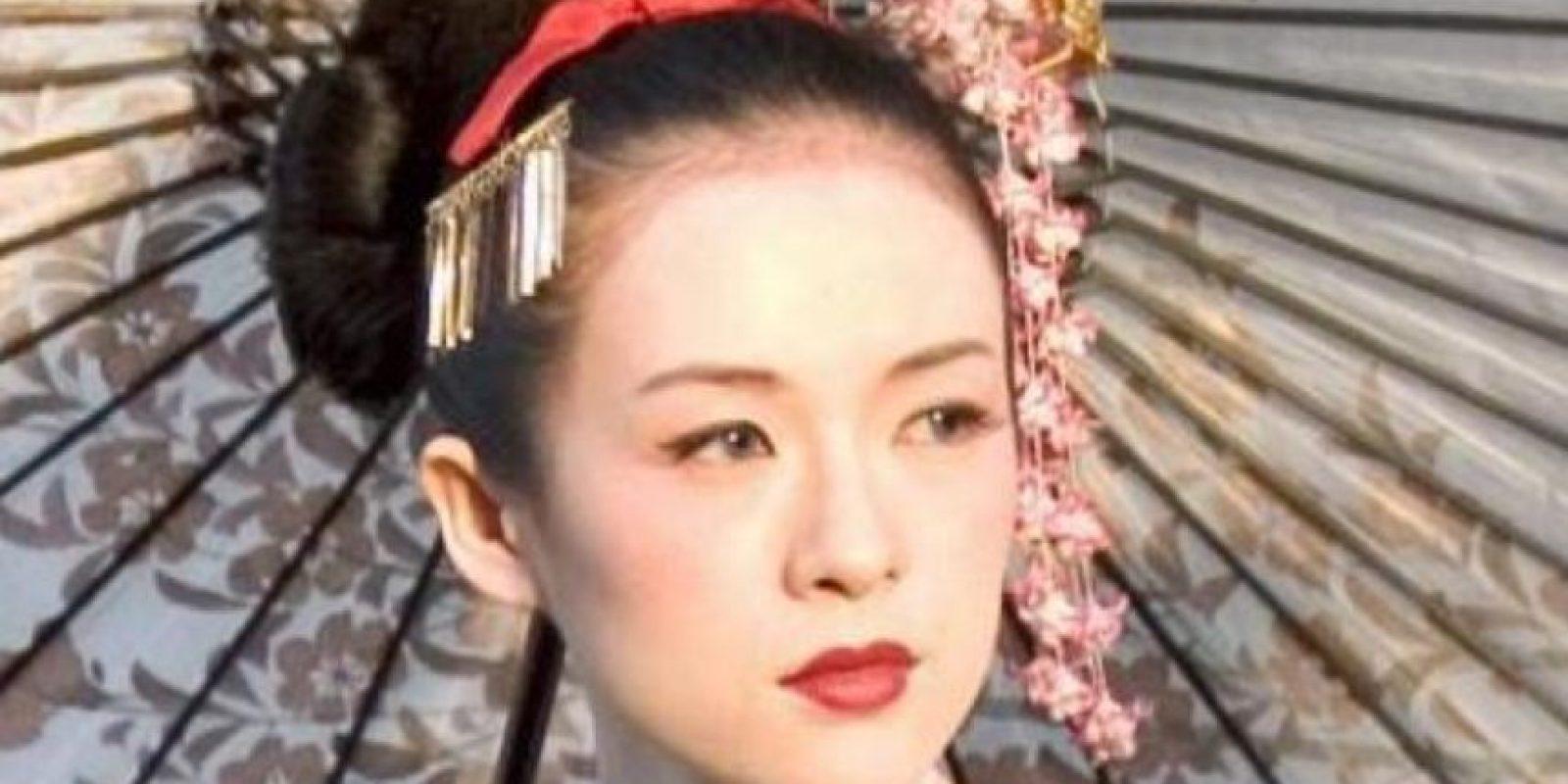 """Pero se hizo mundialmente famosa con """"Memorias de una Geisha"""". Foto:vía Columbia Pictures"""