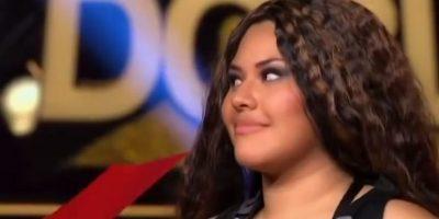 Fue la primera eliminada de la competencia. Foto:vía Tv Azteca