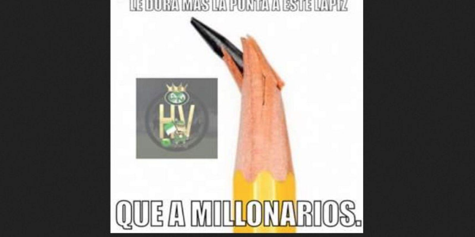 Foto:Tomado del Facebook Humor Verdolaga.
