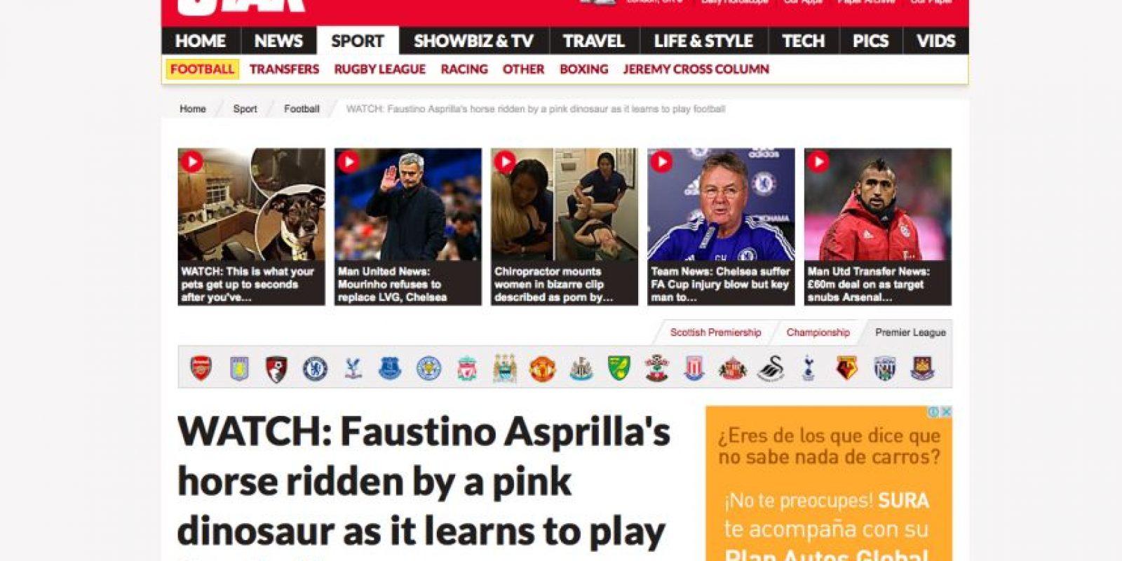 Foto:Captura de pantalla de la página www.dailystar.co.uk