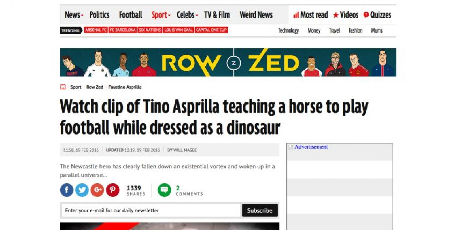 Foto:Captura de pantalla de la página www.mirror.co.uk