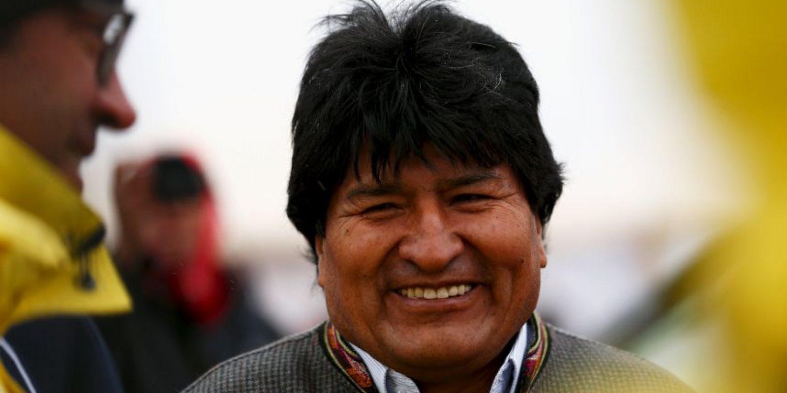Reasumió la presidencia de Bolivia el 22 de enero de 2010. Foto:Getty Images