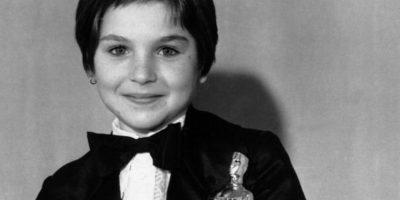 Tatum O' Neal ganó el Oscar a los 10 años. Foto:vía Getty Images