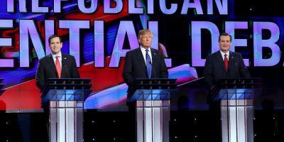 Precandidatos del Partido Republicano Foto:AFP
