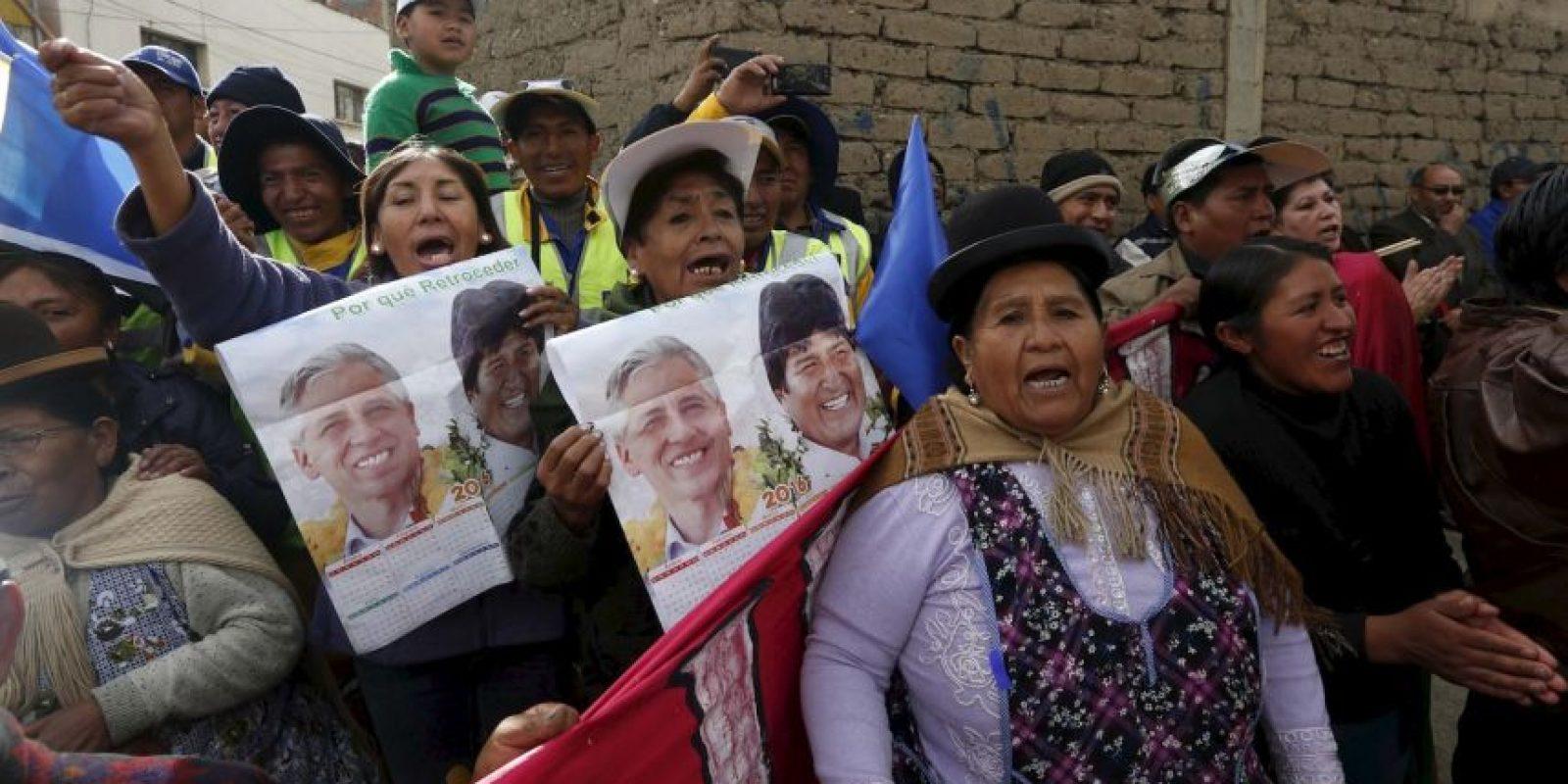 Reasumió la presidencia de Bolivia el 22 de enero de 2010. Foto:AP
