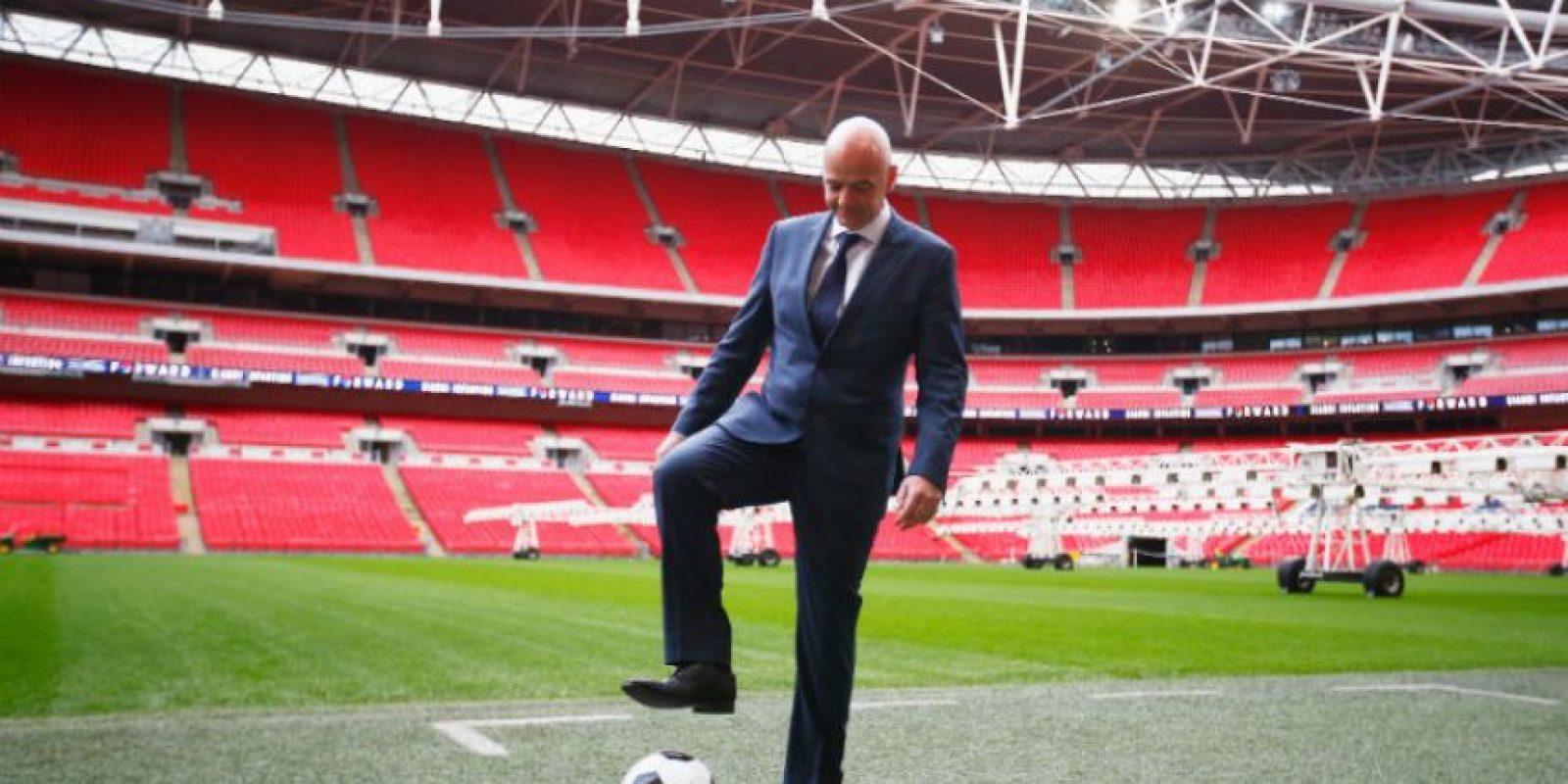 Actual secretario general de la UEFA Foto:Getty Images