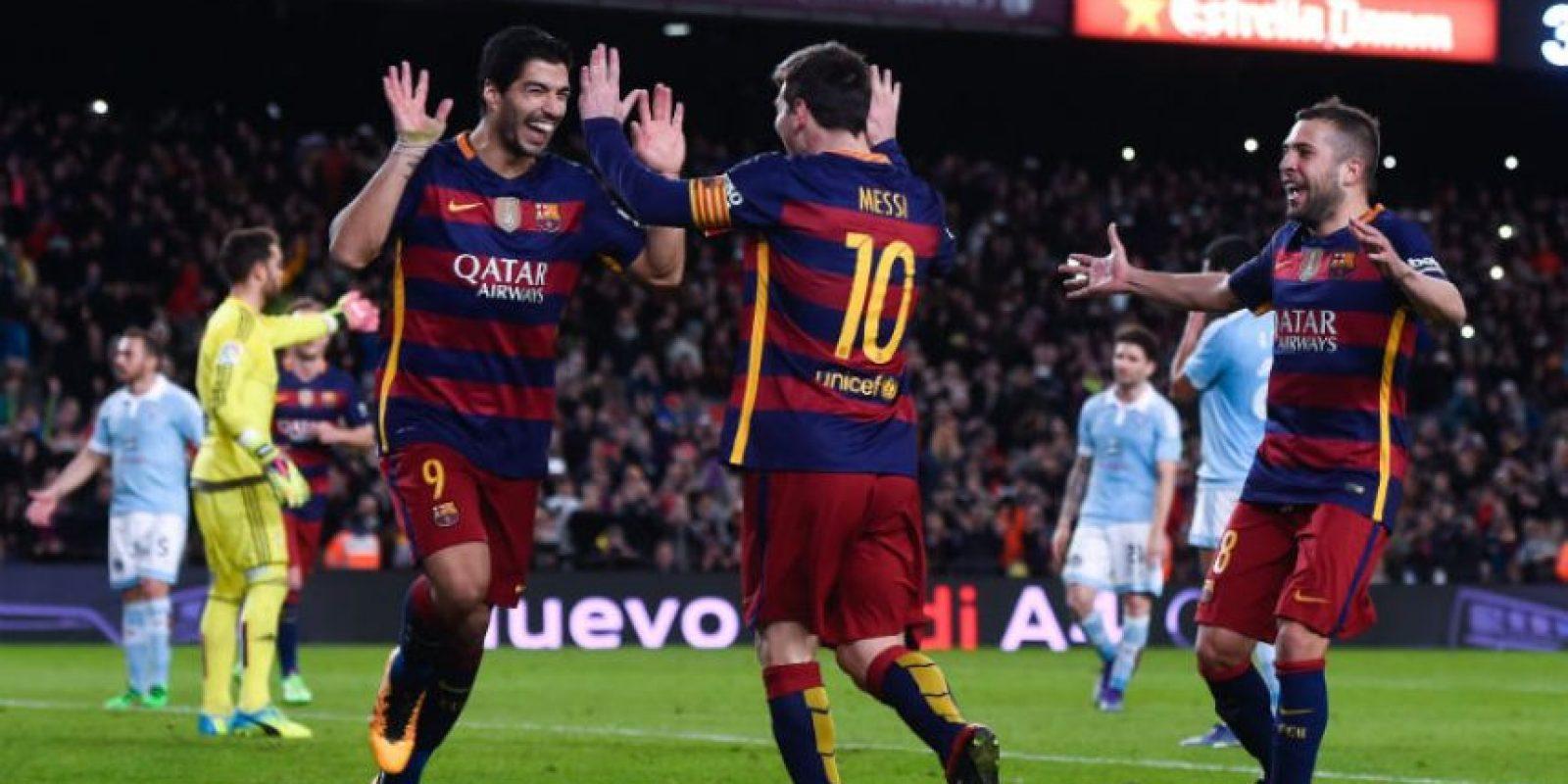 Suárez es líder de goles en España con 25 dianas Foto:Getty Images