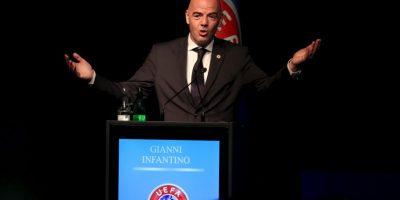 En vivo: Elecciones presidenciales de la FIFA Gianni Infantino Foto:Getty Images