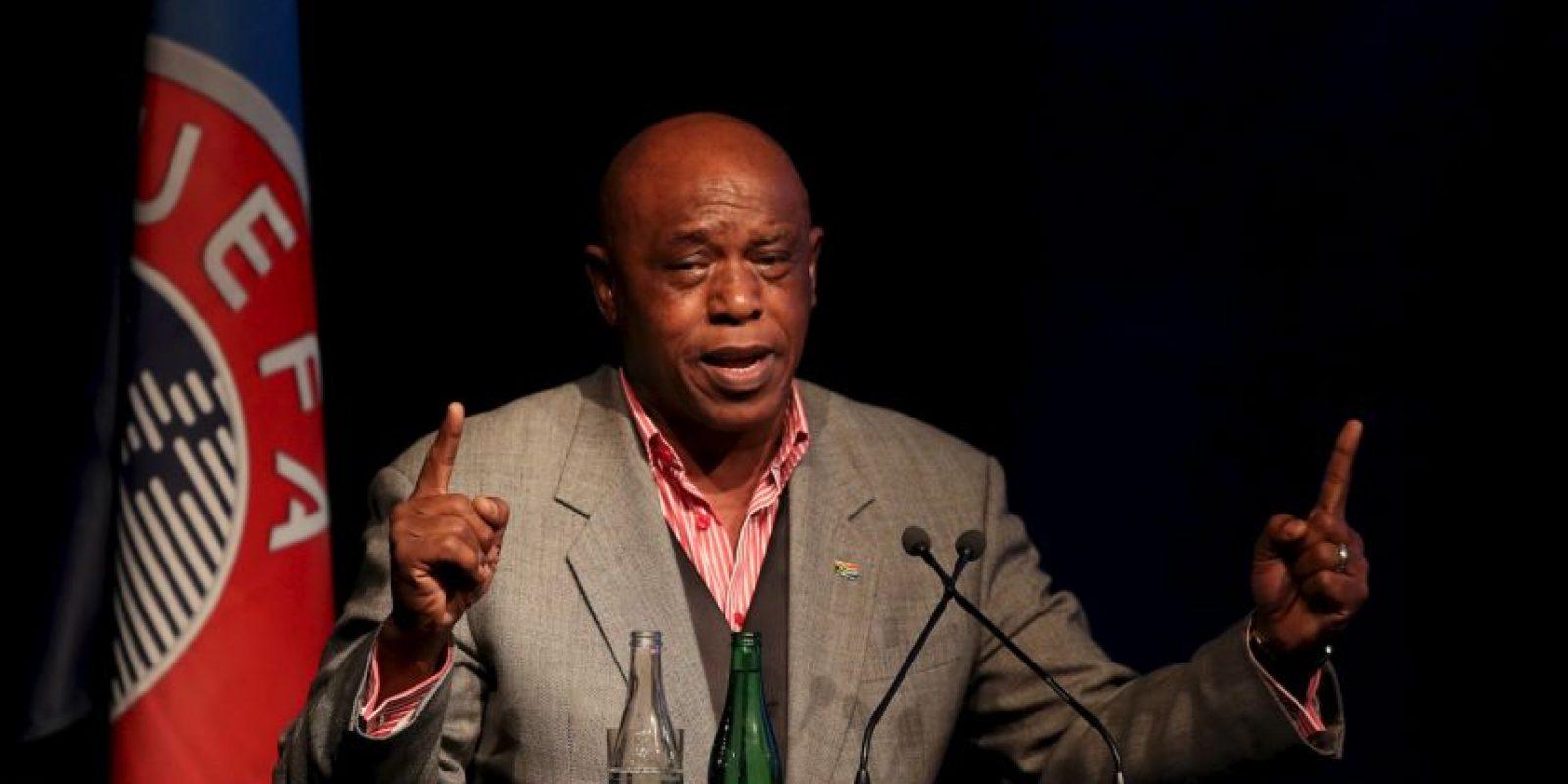 Presentador y activista sudafricano de 62 años Foto:Getty Images