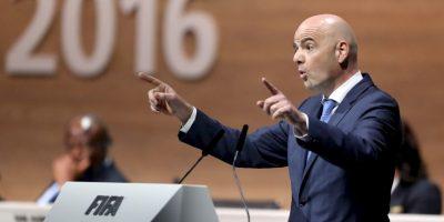 """""""La FIFA acaba de vivir tiempos muy tristes, pero que ya han pasado. Intentaremos hacer un buen gobierno, un gobierno transparente"""" Foto:Getty Images"""