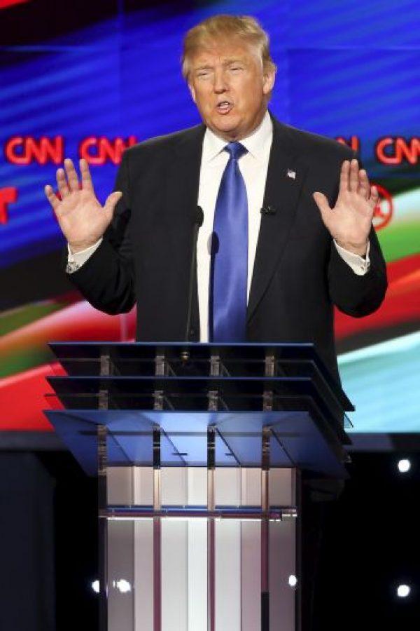 El debate fue transmitido por las cadenas CNN y Telemundo. Foto:AP
