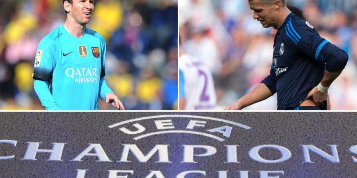 Sorpresivo top de los que más corren en Champions League ¿Messi y Cristiano?