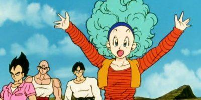 Bulma, el personaje femenino más importante de la serie. Rica por la compañía de su familia, Capsule Corp. Es una genio científico. Foto:Toei