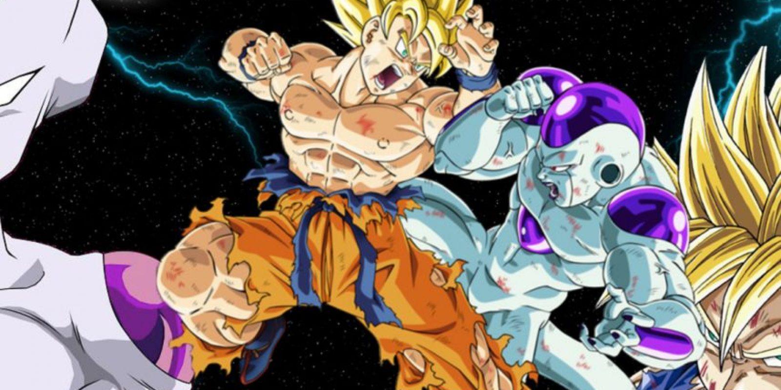 La batalla de Freezer y Gokú (la primera) duró 3 horas y media, siendo la más larga de la historia del Anime Foto:Toei