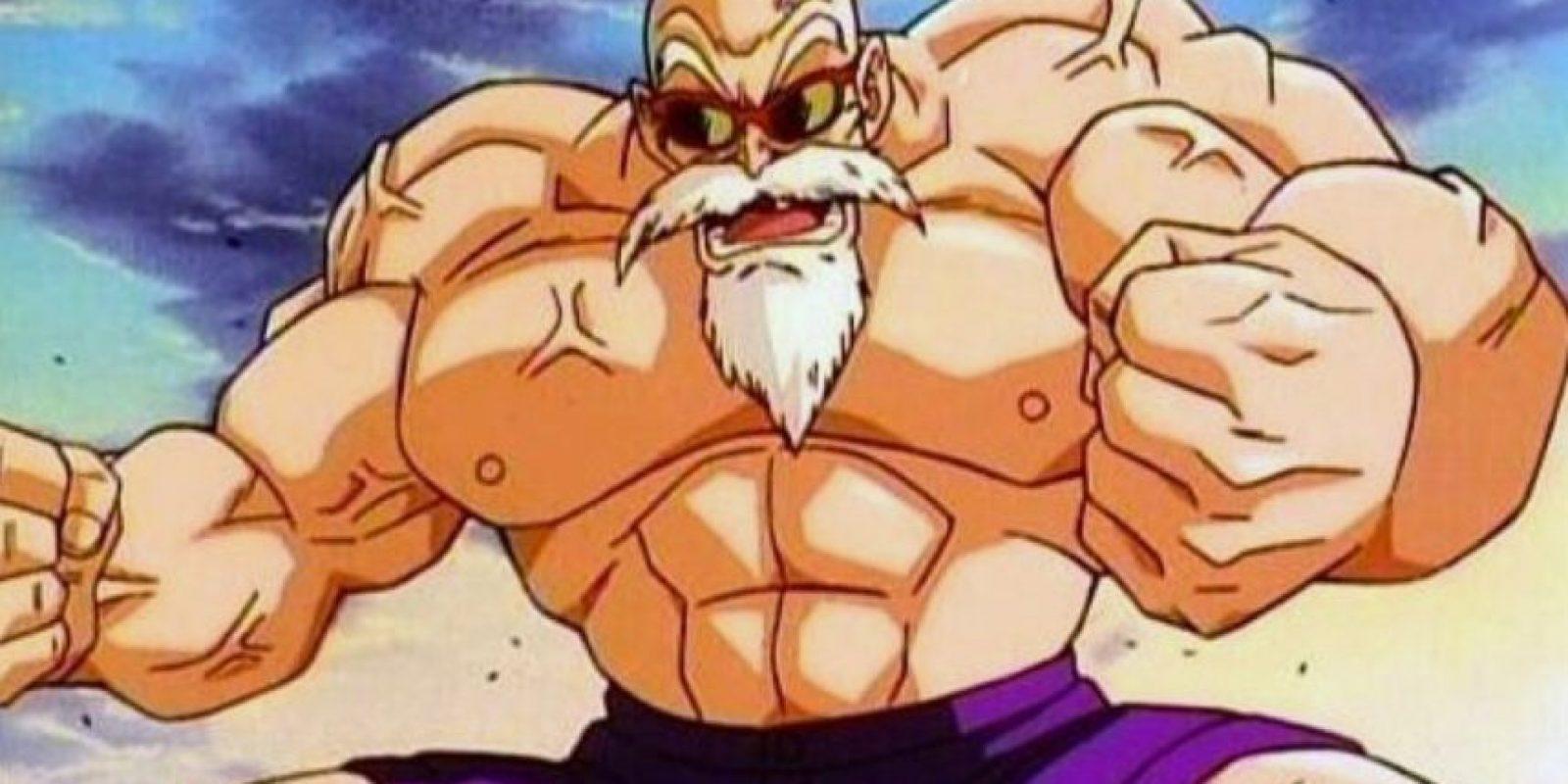El maestro Roshi al comienzo de Dragon Ball Z tiene 354 años. Esto se explica en un capítulo de Dragon Ball, cuando su tortuga explica que tomó un elixir para la inmortalidad. Foto:Toei