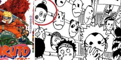 La cara de Chaos aparece en una tira de Naruto. Foto:Shonen Jump.