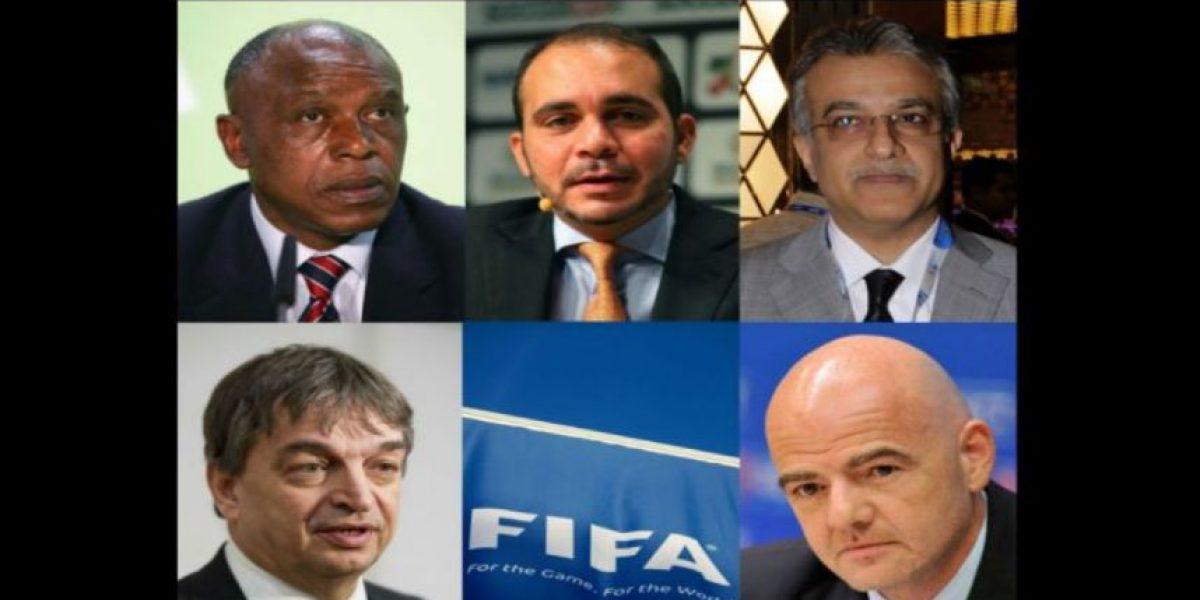 Elecciones FIFA: Conozca el pasado de los 5 candidatos a la presidencia