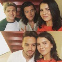 One Direction Foto:Vía Instagram/@maya_henry