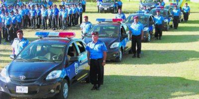 4. En la casilla 130 se encuentra la policía de Nicaragua. Tienen 27 puntos Foto:Wikipedia.org