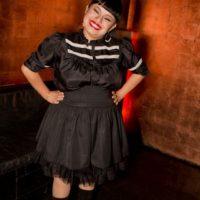 Está casada con Ulises Lozano, cantante de Kinky. Foto:vía Getty Images