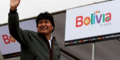 Fue elegido en 2005 como sexagésimo quinto presidente de Bolivia. Foto:Getty Images