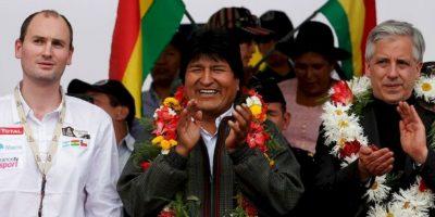 El 12 de octubre de 2014 ganó con un amplio margen las elecciones presidenciales. Foto:Getty Images
