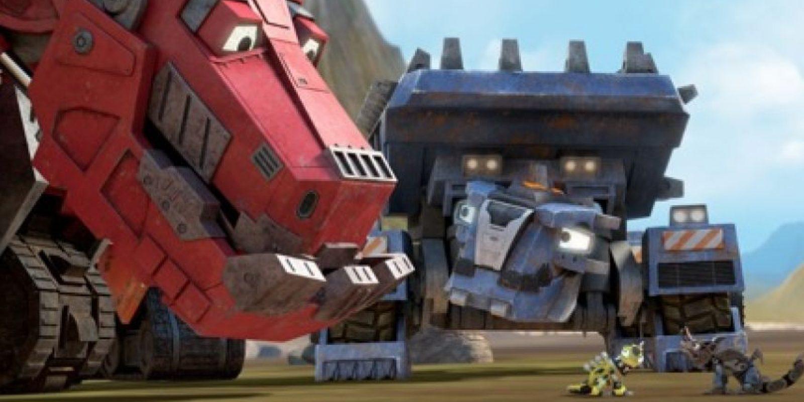 """""""Dinotrux"""" temporada 2 – Disponible a partir del 11 de marzo."""