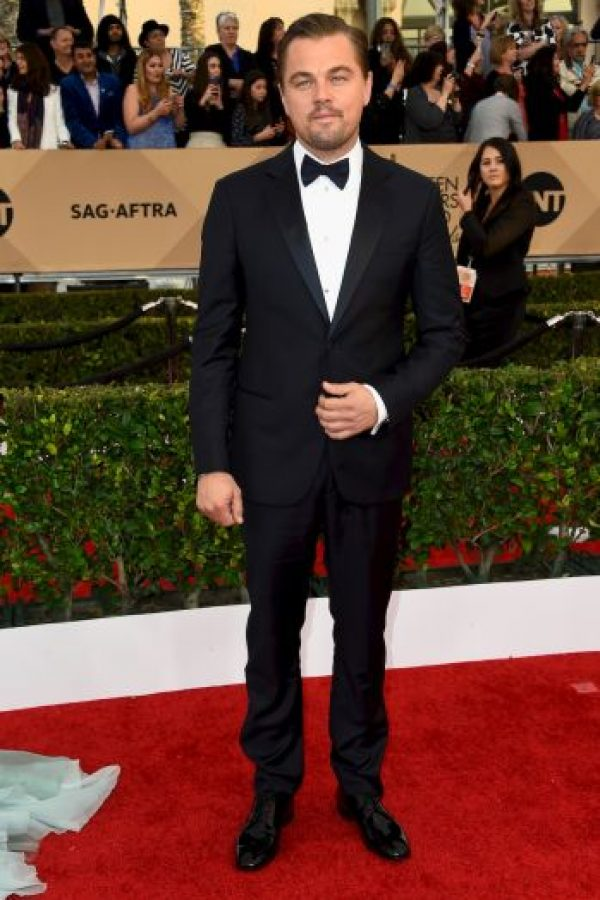 """Su cuarta nominación llegó en 2013 , en donde interpretó a """"Jordan Belfort"""". Aquí es cuando el mundo se llenó de memes y chistes del acto, para muchos de los críticos DiCaprio tenía que haberse llevado ese Oscar, pero lo volvió a perder. Foto:Getty Images"""