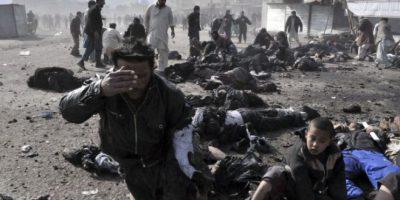El portavoz de los rebeldes islamistas, Zabiullah Mujahid, aseguró en Twitter que la explosión causó 23 muertos. Foto:Getty Images